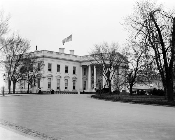 Photo Print: The White House, Washington, D.C., circa 1918 ... 1920 White House