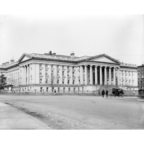 Photo Print 8x10: Department of the Treasury, Washington, D.C., circa... by ClassicPix.com at Sears.com